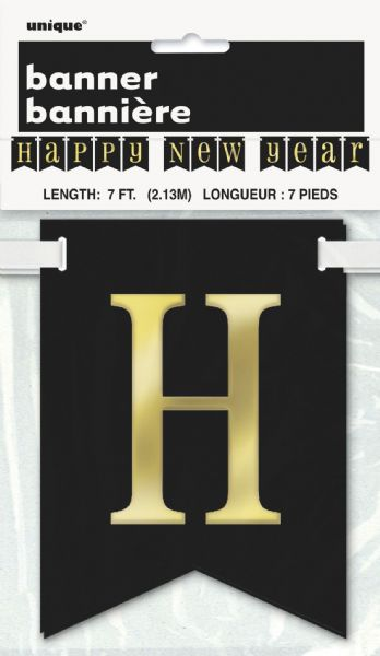 2021 Happy New Year Pennant Banner